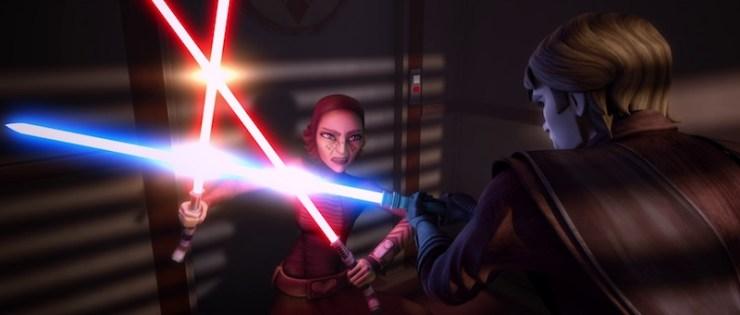 Clone Wars, Barriss Offee, Anakin Skywalker