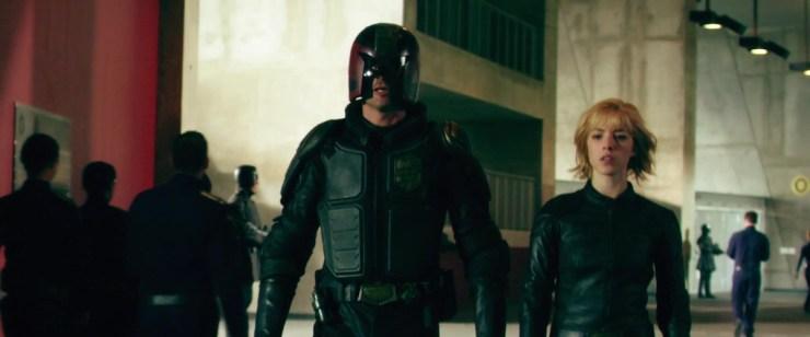 Dredd 2012 film Anderson