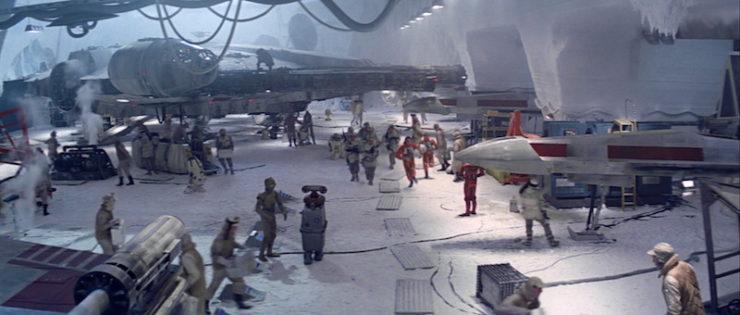 Echo base, the Empire Strikes Back