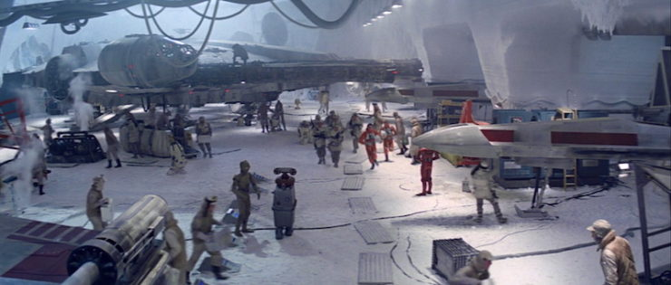 Echo base, the Empire Strikes Back