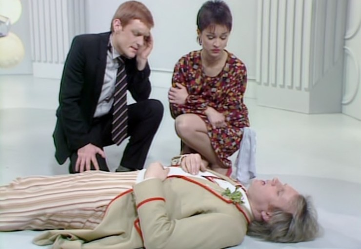Doctor Who, Fifth Doctor, Tegan, Turlough