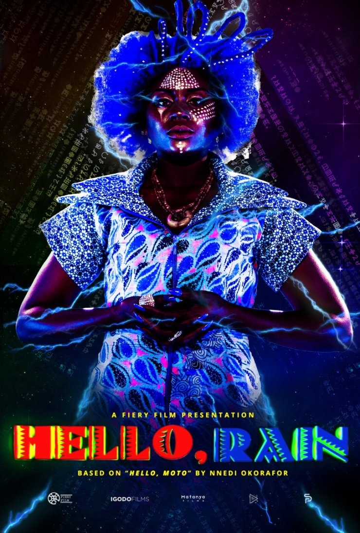 Hello, Rain character posters Rain Nnedi Okorafor