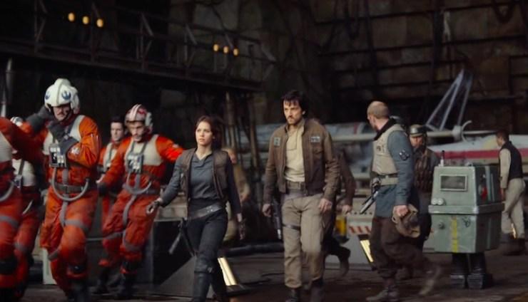 Rogue One, Jyn Erso, Cassian Andor