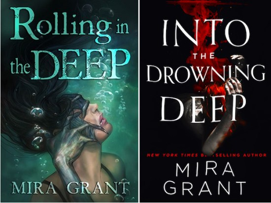Rolling in the Deep series Into the Drowning Deep Mira Grant killer mermaids