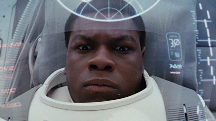 Star Wars The Last Jedi Finn coma