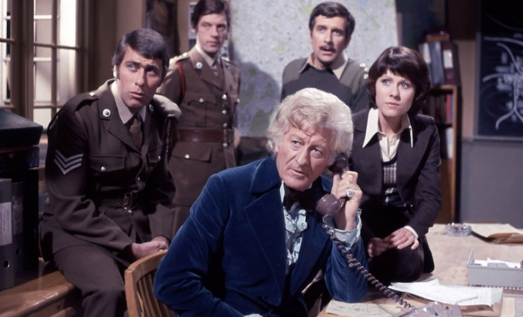 Doctor Who, Third Doctor, Sarah Jane, UNIT