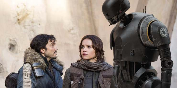 Cassian, K-2SO, Rogue One