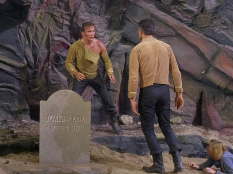 James R Kirk tombstone Where No Man Has Gone Before