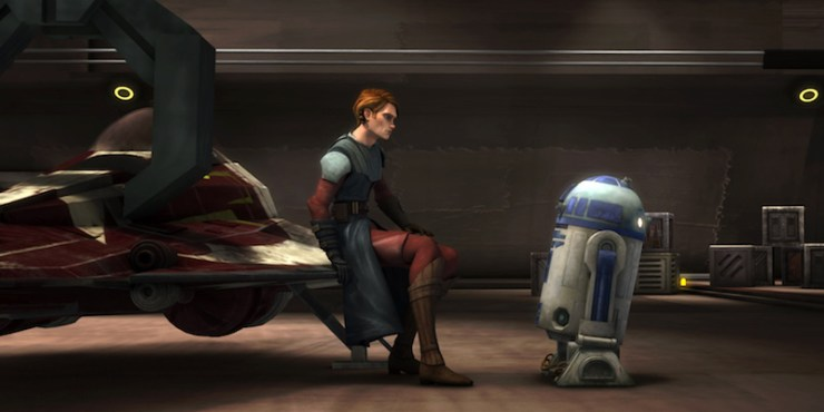 The Clone Wars, Anakin, R2