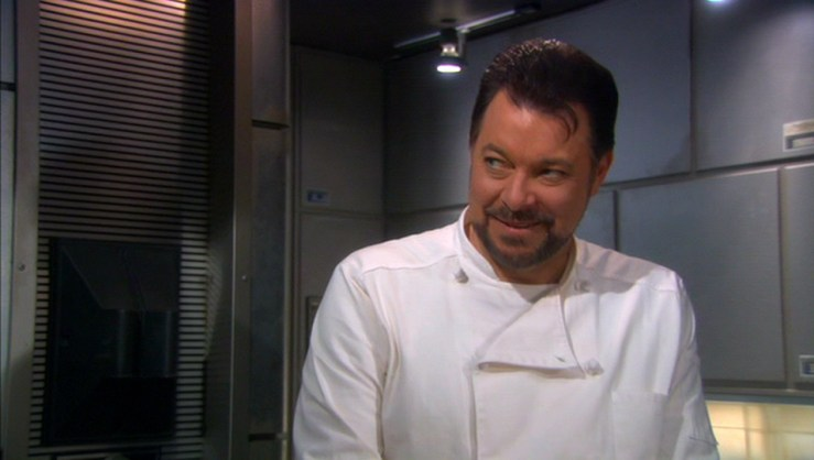 Riker Jonathan Frakes Star Trek Enterprise chef