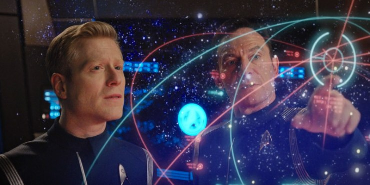 Star Trek Discovery Lorca and Stamets