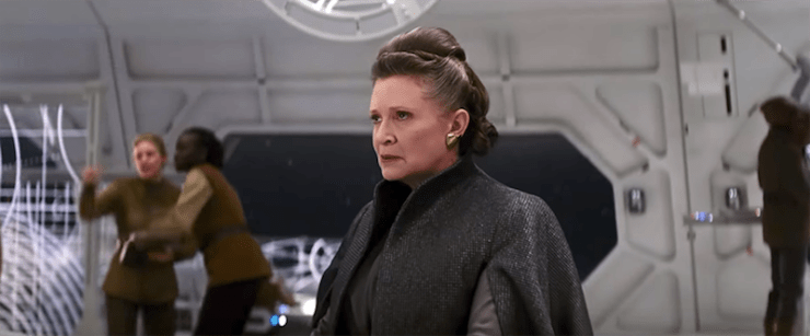 Star Wars, The Last Jedi, Leia