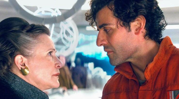 Star Wars, The Last Jedi, Leia, Poe