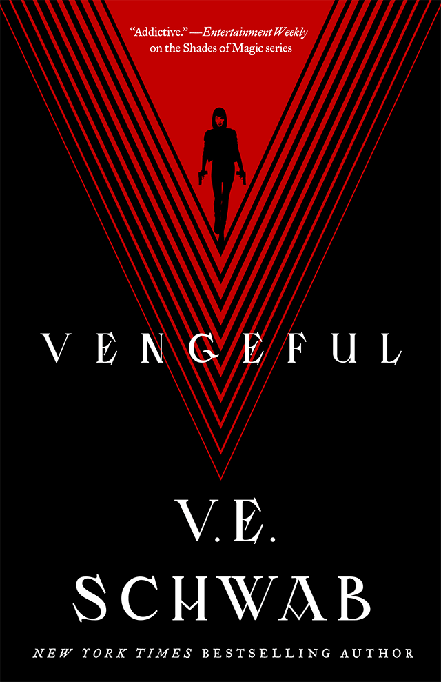 Vengeful V.E. Schwab cover