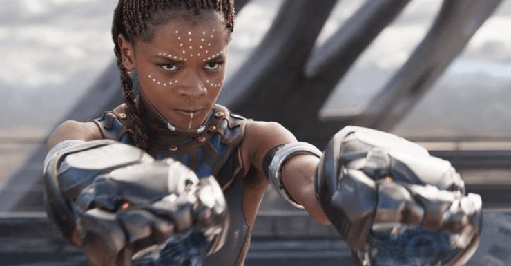 Letitia Wright Shuri Black Panther