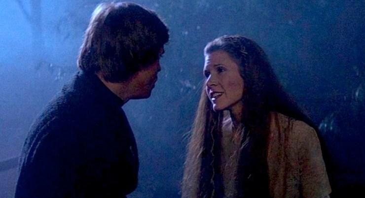 Luke and Leia, Return of the Jedi