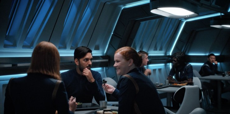 Star Trek Discovery The War Without the War Within mess hall