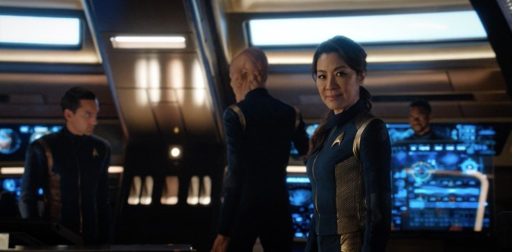 Star Trek Discovery The War Without the War Within Georgiou assumes command