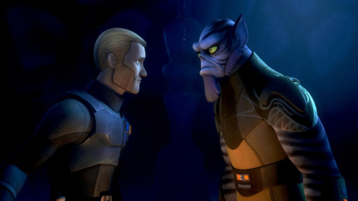 Star Wars Rebels, Zeb and Kallus