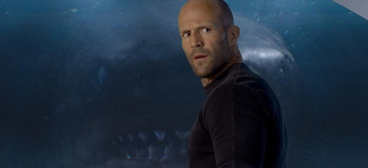 The Meg movie adaptation Jason Statham