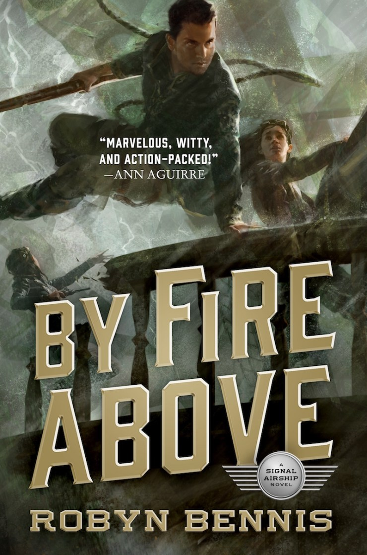 By Fire Above Robyn Bennis