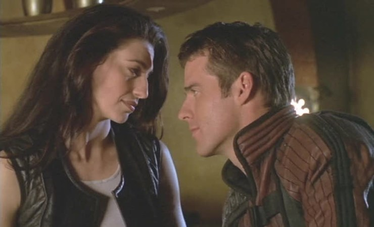 John Crichton Aeryn Sun Farscape best science fiction love story