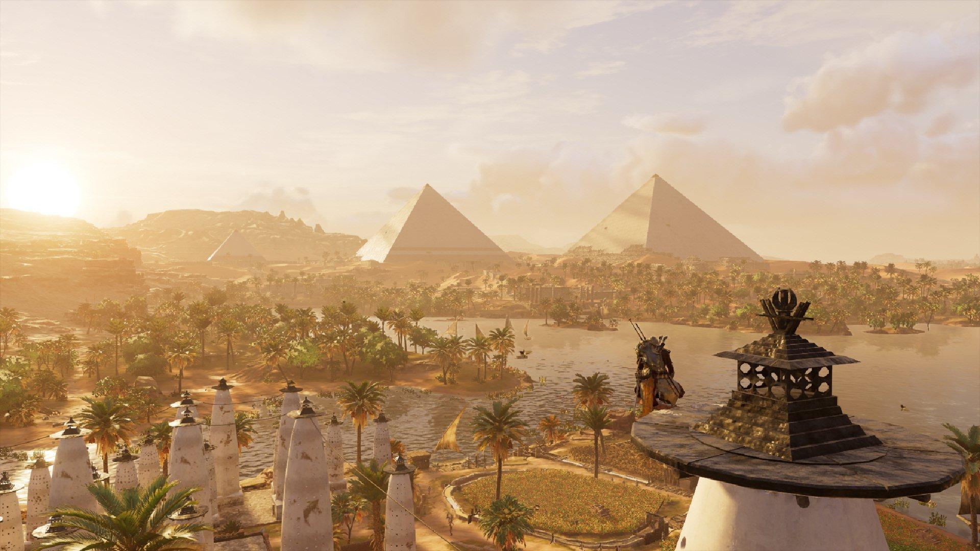 Assassin S Creed Origins Makes Cleopatra S Egypt Real Tor Com