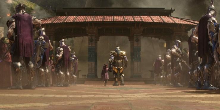 Avengers: Infinity War spoiler review Gamora Thanos