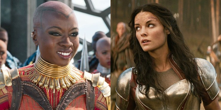 General Okoye and Lady Sif