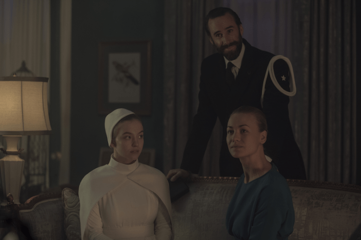 "The Handmaid's Tale 205 ""Seeds"" television review Nick wedding Eden Prayvaganza"