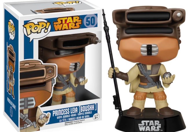 May the 4th Star Wars Day favorite Star Wars things Leia Boushh Funko POP figure