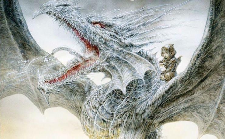 The Ice Dragon George R.R. Martin adaptation animated Warner Bros