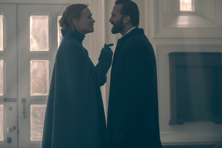 The Handmaid's Tale 211 Holly television review labor baby