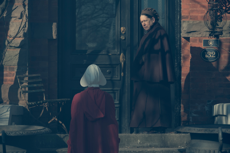 The Handmaid's Tale 212 Postpartum television review Eden Isaac death