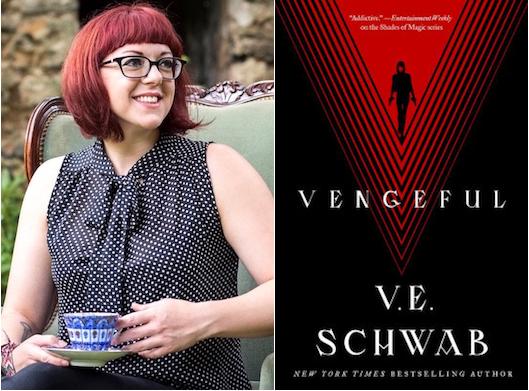 V.E. Schwab Vengeful author tour dates venues