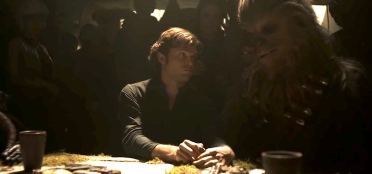 Solo: A Star Wars Story, Han and Chewie