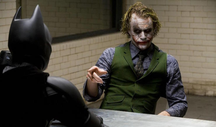"Why so serious?"" — The Dark Knight 