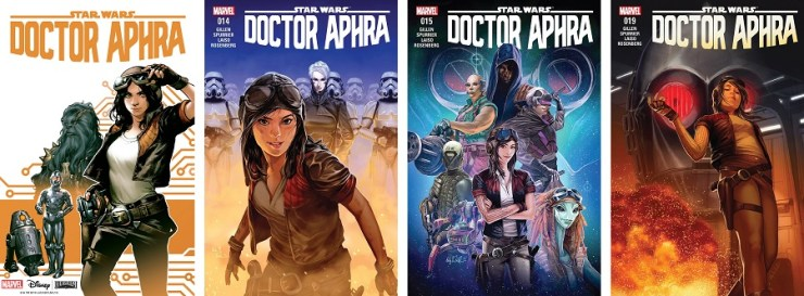 Blog Post Featured Image - Pull List: Queering Canon with Doctor Aphra