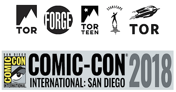 Blog Post Featured Image - Come Join Tor Books and Tor.com at San Diego Comic-Con 2018!