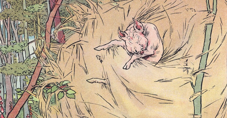 """Blog Post Featured Image - Politics and Fairy Tales: Early Versions of """"The Three Little Pigs"""""""