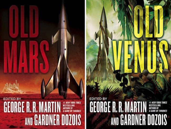 Blog Post Featured Image - Rekindling Planetary Romance: Old Mars and Old Venus, edited by George R. R. Martin and Gardner Dozois