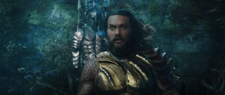 Aquaman trailer, Jason Momoa