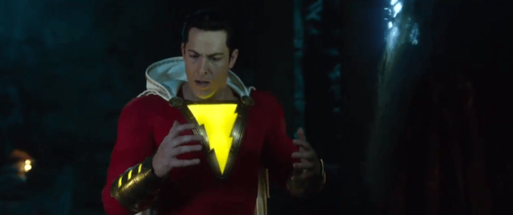 Blog Post Featured Image - Watch Billy Batson Shazam! For the First Time in New Trailer