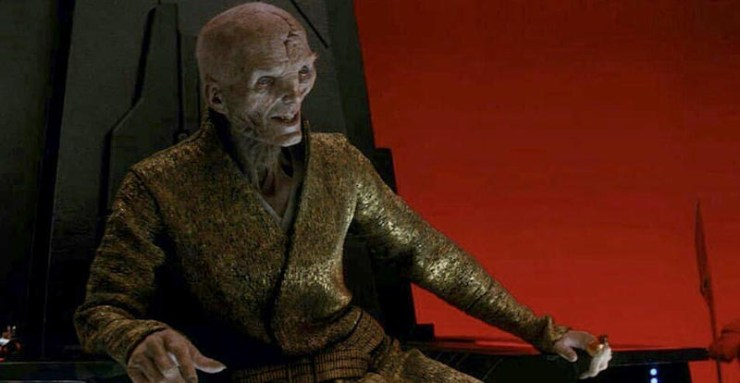 Supreme Leader Snoke, The Last Jedi, Star Wars