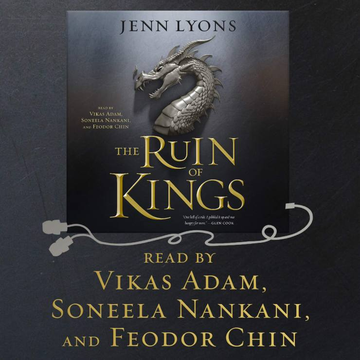 The Ruin of Kings audiobook narrators announcement Jenn Lyons