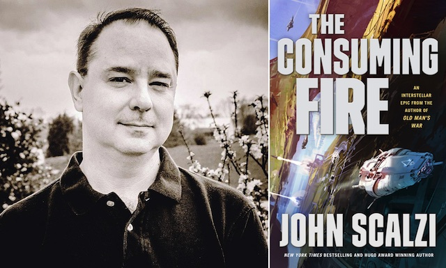 See John Scalzi on Tour for The Consuming Fire   Tor com