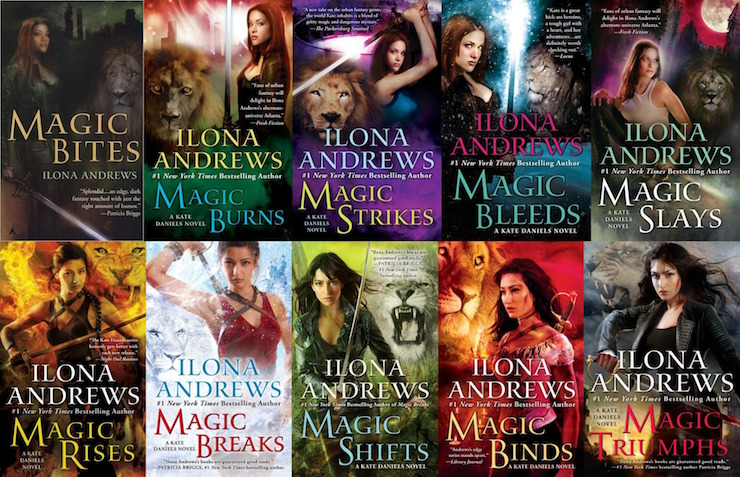 Kate Daniels series by Ilona Andrews