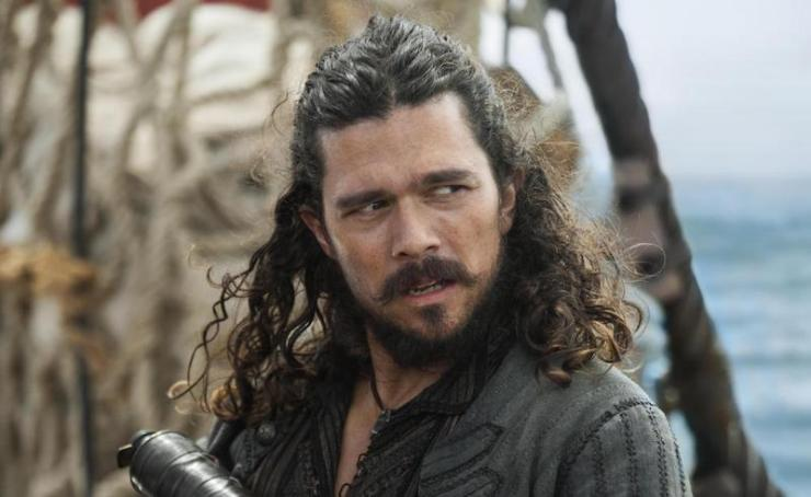Luke Arnold, Black Sails