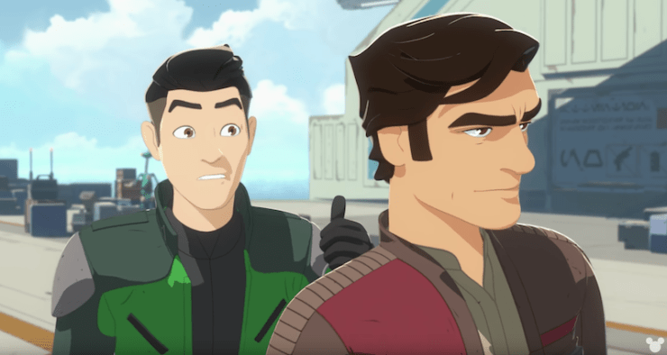 Blog Post Featured Image - Poe Dameron Has a Mission For a Few Good Rebels in First Star Wars: Resistance Trailer