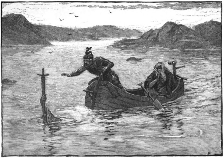 The Lady of the Lake Arthurian legend